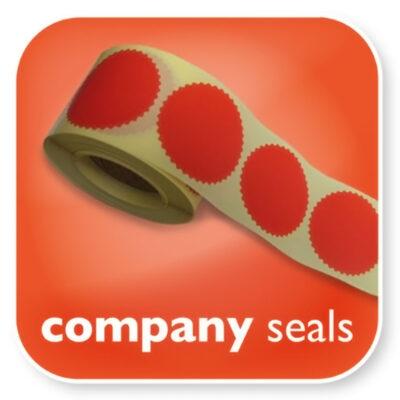Company Seals Labels