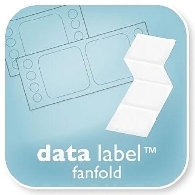 Data Fanfold Labels