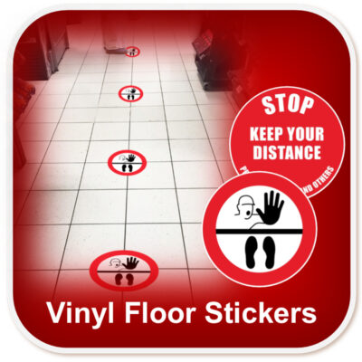 Floor Marker Stickers