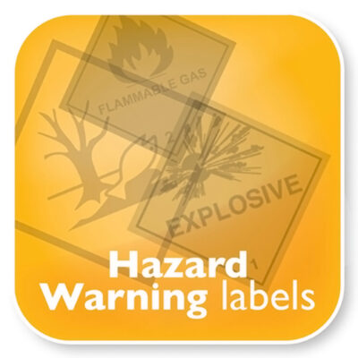 CLP Hazard Warning Labels