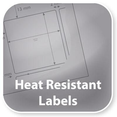 Heat resistant labels