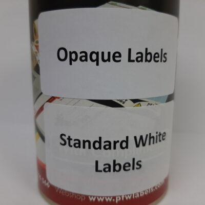 Opaque Labels