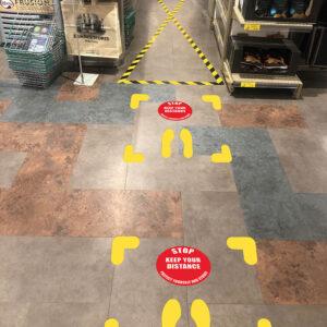 Floor Marker Stickers