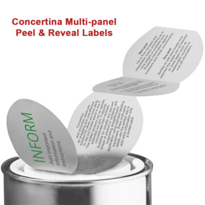 Peel & Reveal Labels