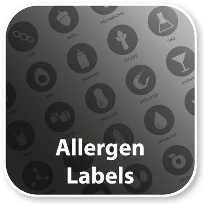 Allergen Labels